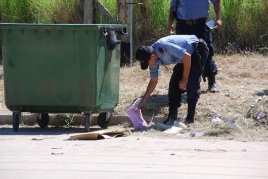 Barrio Güemes: hallaron un feto dentro de un contenedor de basura