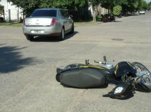 El 82% de los siniestros viales es protagonizado por motos