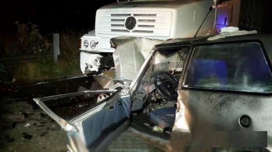Una pareja herida tras brutal colisión en Ruta Nacional 127
