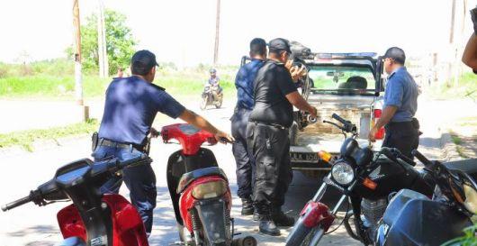 Detienen a un arrebatador y secuestran 14 motocicletas