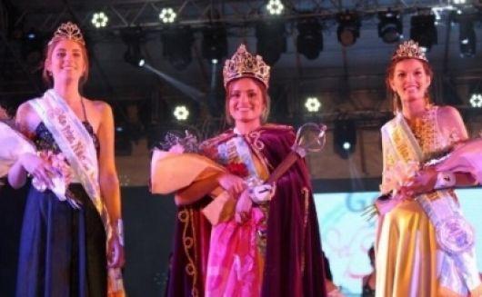 Luciana Scófano, electa flamante Reina Nacional del Surubí