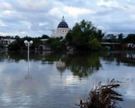 Situación de la creciente del río Paraná: bajaron las aguas en Ituzaingó