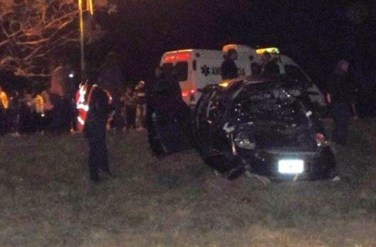 Accidente fatal en el acceso Norte de Lavalle