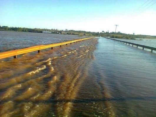 Continuará cortada la Ruta 14 cerca de Santo Tomé
