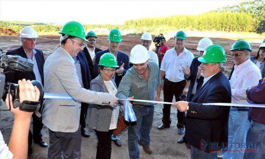 Inauguraron la primera planta de biomasa para generación de energía