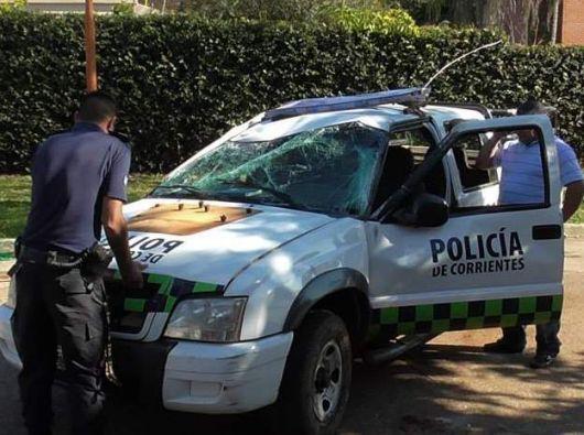 Para liberar a un detenido, policías fueron agredidos y atacados en Paso de los Libres