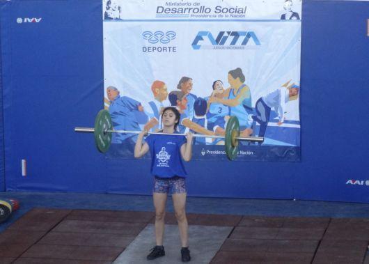 Juegos Evita 2014: el primer sapucay correntino en Buenos Aires lo dio Azul Monzón