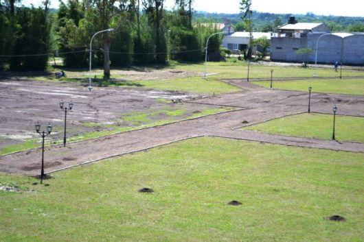 Se ultiman detalles en el predio de la Fiesta de la Horticultura