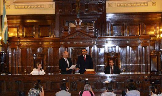 Valdés juró como miembro del Consejo de la Magistratura de la Nación