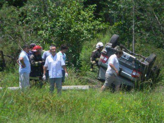 Accidente faltan en Goya