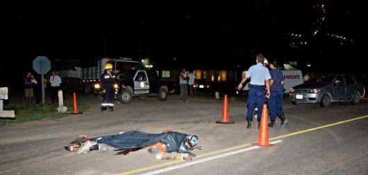 Dos hombres mueren en el acto en accidentes