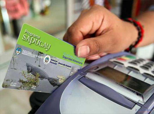 Habilitaron el pago de las Tarjetas Sapucay de $120 y $150