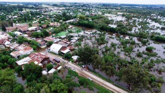 Santa Lucia, otra ciudad duramente golpeada por El Niño