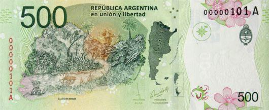 Cómo detectar un billete de 500 pesos falso
