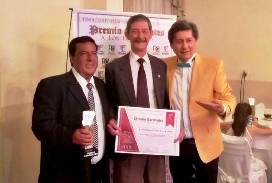 Distinguen a MEGALATINA por su trayectoria en la Transmisión y cobertura de Fiestas Provinciales y Nacionales
