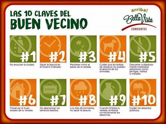 """""""Las 10 Claves del Buen Vecino"""""""