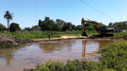 Arrancan las primeras obras des plan maestro de desagües para la ciudad