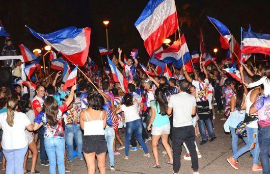 Sapucay Bicampeona del Carnaval 2017