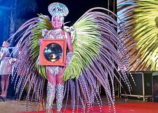 Oriana Fonseca y Leonardo Romero, Reyes del Carnaval 2017