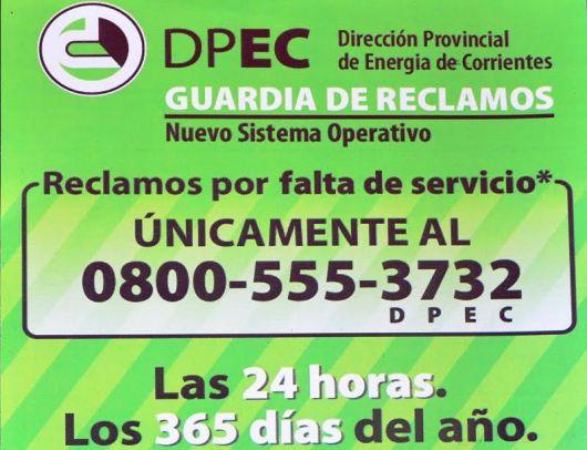La DPEC con nuevo sistema para reclamos