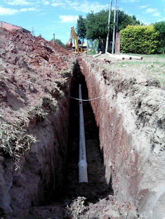 Barrios Santa Lucia, Progreso y Centenarios: Más de Medio Millón de Pesos en Agua Polable y Cloacas