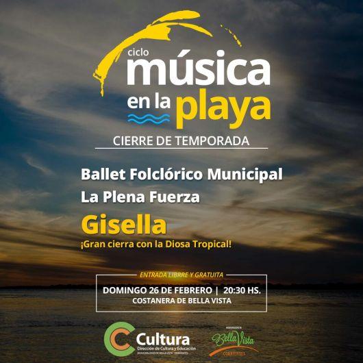 """Cierra la temporada de """"Música en la Playa"""""""