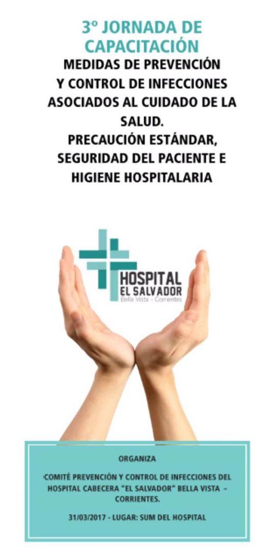 """""""Seguridad del Paciente e Higiene Hospitalaria"""", jornada de capacitación el hospital El Salvador"""