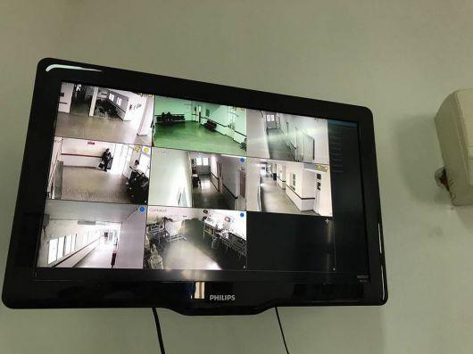 Cámaras de última generación para una nueva etapa de seguridad en el hospital