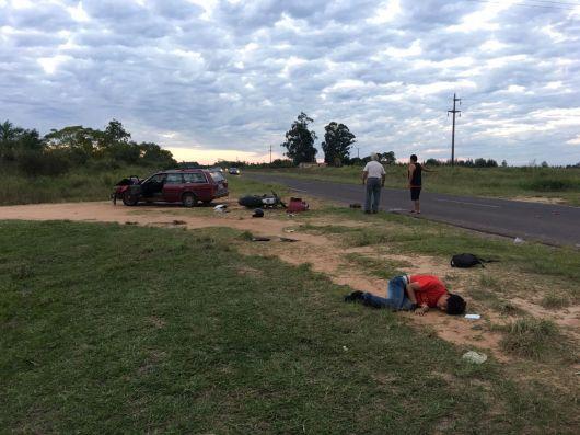 Otro accidente en Ruta Provincial 27