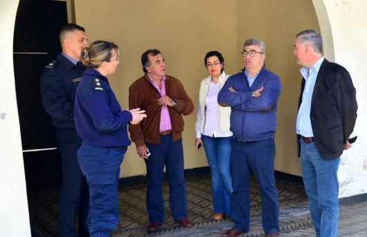 Ministro de Seguridad de Corrientes, Horacio Ortega, se reunió con el Intendente Chavez