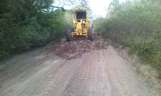 Obras municipales en Lomas y Colonia Progreso