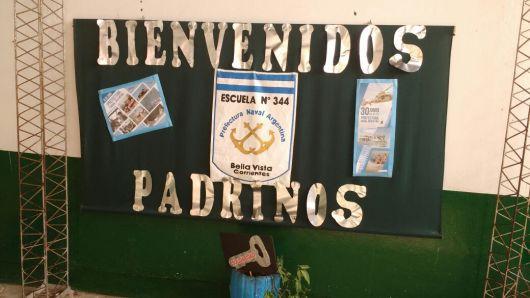 Prefectura Naval Argentina visita la Escuela 344