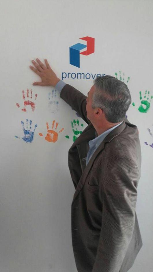 Firman Convenio de Inclusión y Lanzamiento de un Taller de Oficio en el marco del programa PROMOVER.