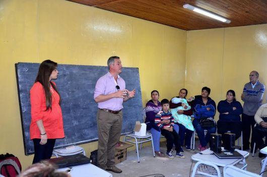El Intendente recorre las zonas rurales con el programa provincial de Asistencia a Familias Rurales del IDERCOR