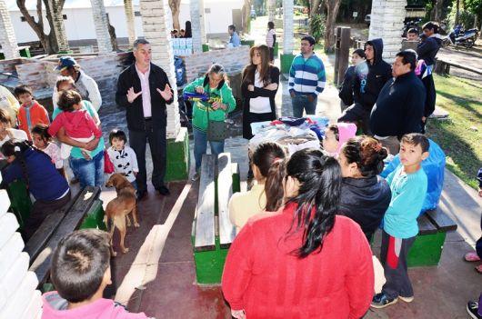Continúa la asistencia a familias de distintos puntos de la ciudad