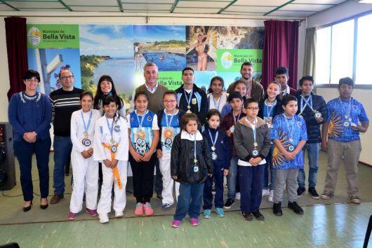 Destacada participación de Bella Vista en el Mundial de Taekwondo