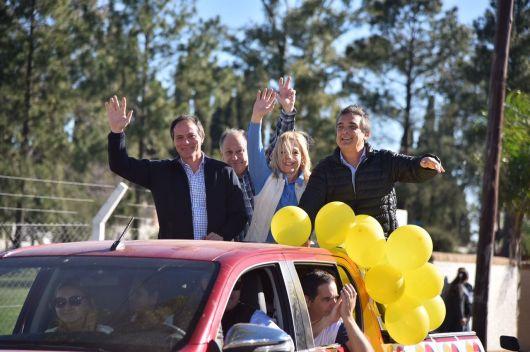 """Camau y Nito Artaza por Curuzú: """"La gente apoya nuestra propuesta"""""""