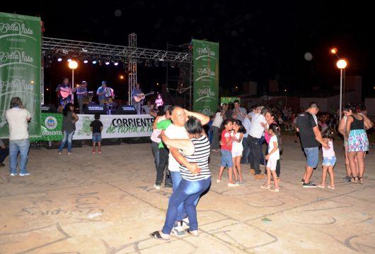 Corrientes de Punta a Punta fue una fiesta en Bella Vista