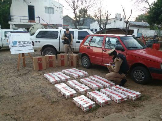 Operativo de Prefectura Bella Vista Logro Incautar 80 mil pesos en mercadería de contrabando