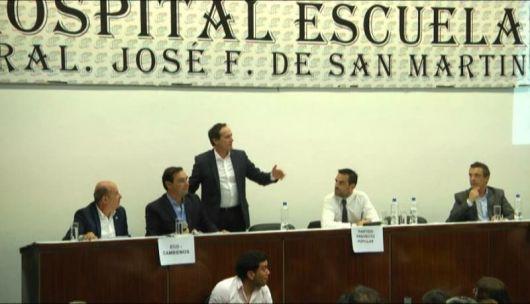 """Camau: """"Con sus gritos, los candidatos  de Colombi desaprovecharon el debate"""""""