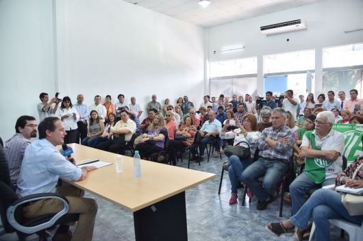 """Acuerdo Camau-gremios: """"Mi compromiso es garantizar cada derecho de los trabajadores"""""""