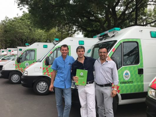 Dos Nuevas ambulancias para Bella Vista