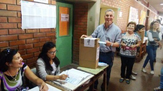 Walter Chávez reelecto Intendente de Bella Vista