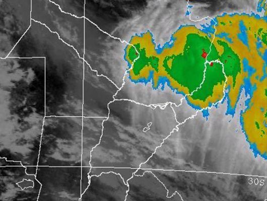 El Servicio Meteorológico Nacional, advierte sobre posibles fuertes tormentas hasta el jueves