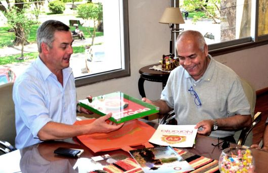El Rotary se reunió con el Intendente