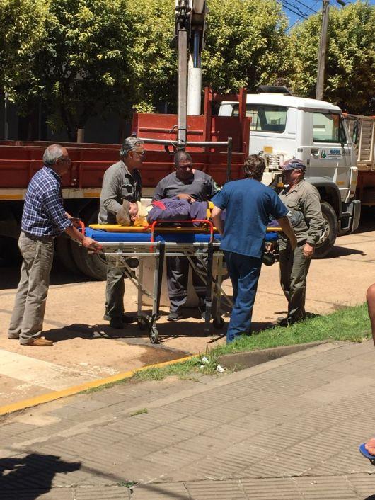 Obrero accidentado en el Banco de Corrientes S.A