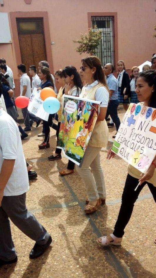 """Caminata por  """"El mes de la plena integración de personas con discapacidad"""""""