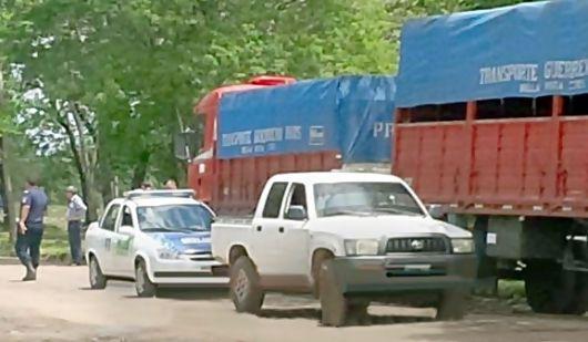 """Camionero de Bella Vista detenido acusado de un intento de """"autorrobo"""" por unos $40 mil."""