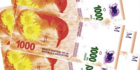 El Banco Central pondrá en circulación billetes de 1.000 pesos