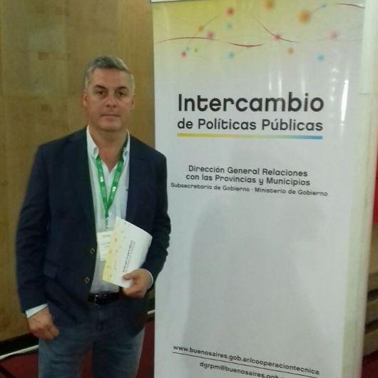 Walter Chavez participó de la jornada de Intercambio de Políticas Pública